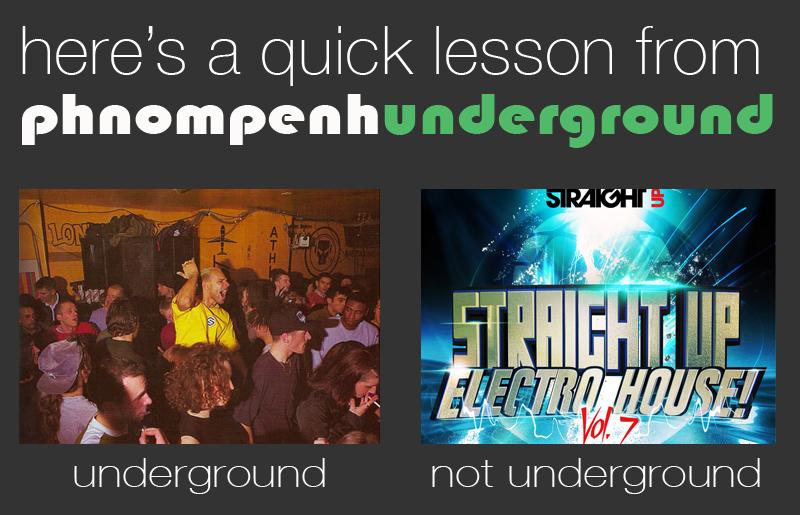underground not underground