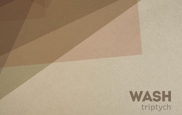 wash Triptych