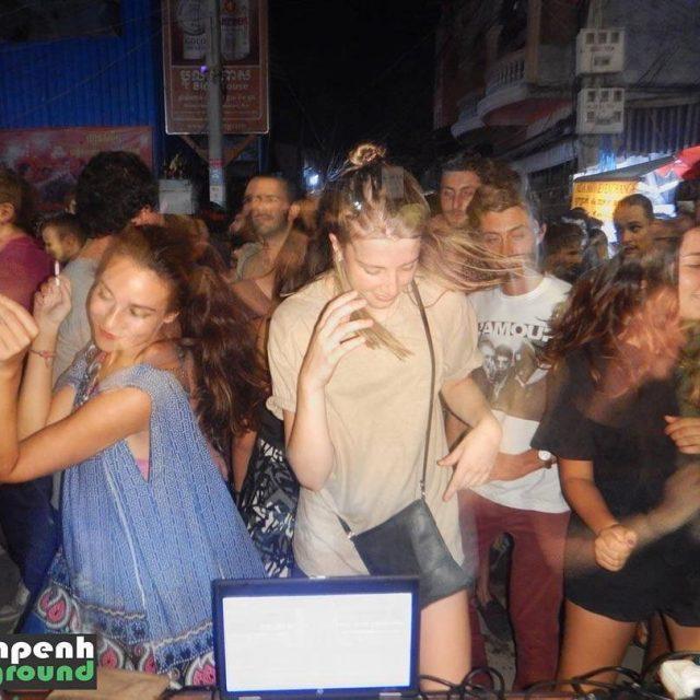 Phnom Penh Underground 2nd Birthday Street Festival Simone Art 160116hellip
