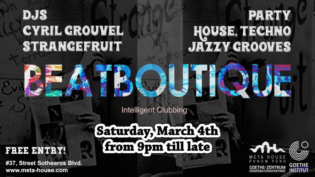 Beat boutique phnom penh underground for The beat boutique